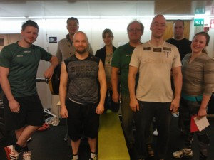 Sotilaspenkki (maksimi) Kauppakorkeakoulun salilla 20.1.2016