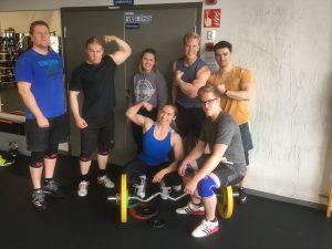 Voimaliigan Meilahden osakilpailu la 20.10.2018 – Voimakolmio